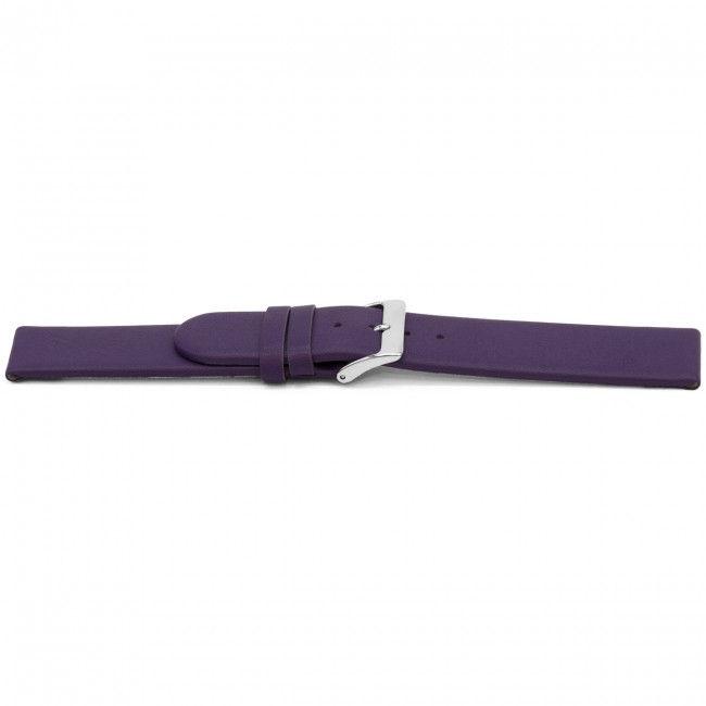 Horlogeband G801 leder paars 20mm