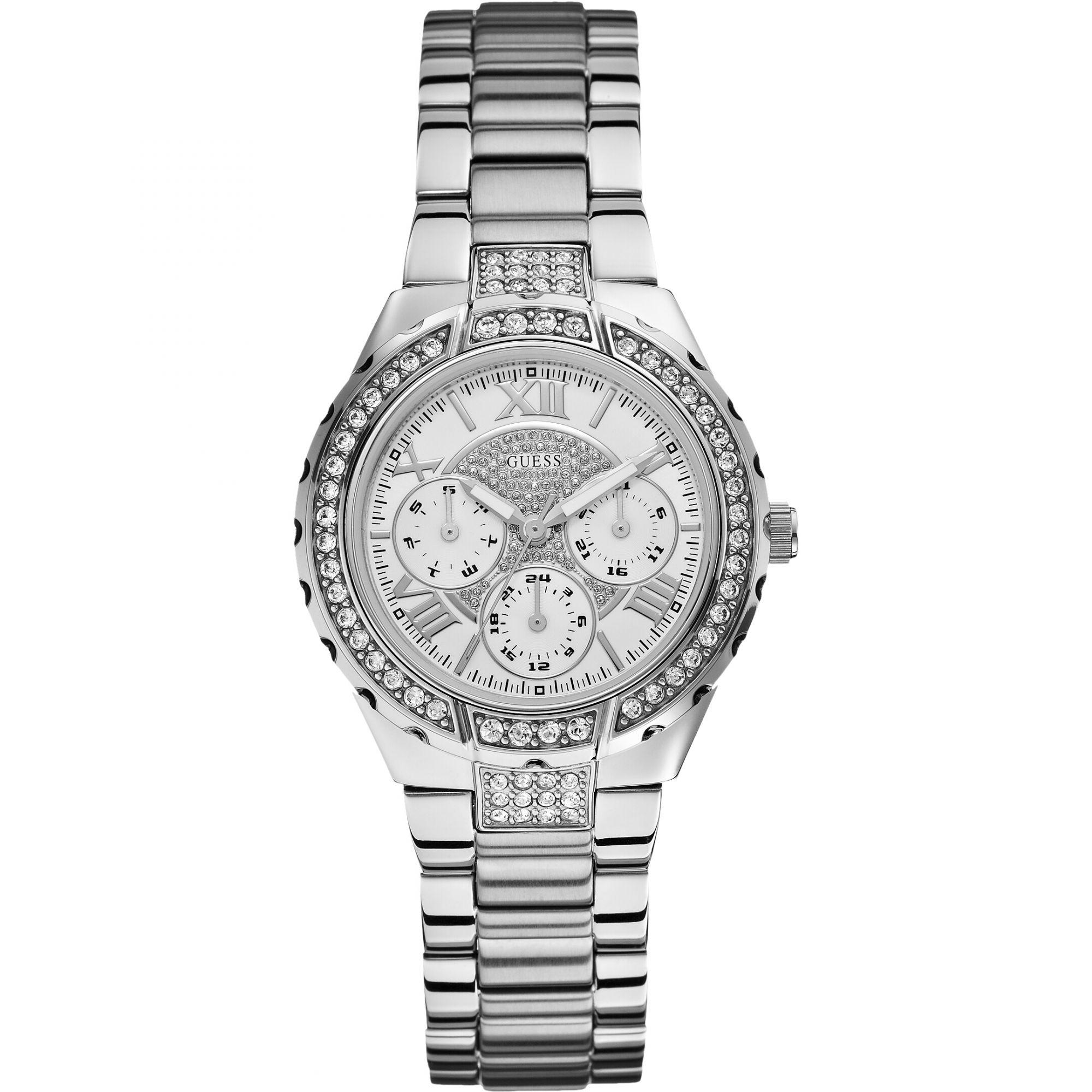 Guess W0111L1 Analoog Dames Quartz horloge