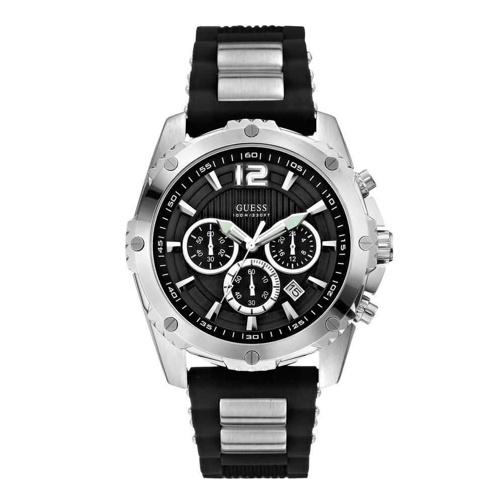 Guess W0167G1 Analoog Heren Quartz horloge