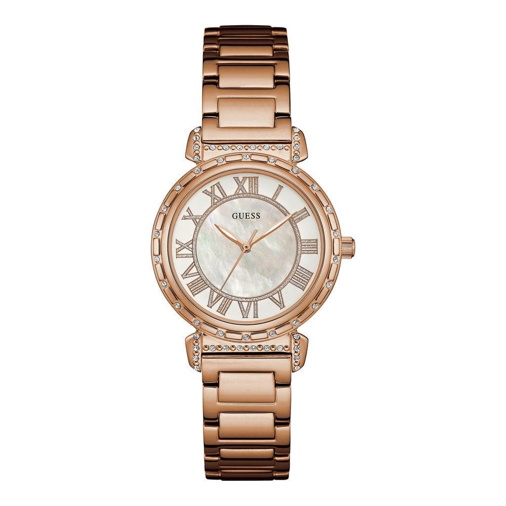 Guess W0831L2 Analoog Dames Quartz horloge