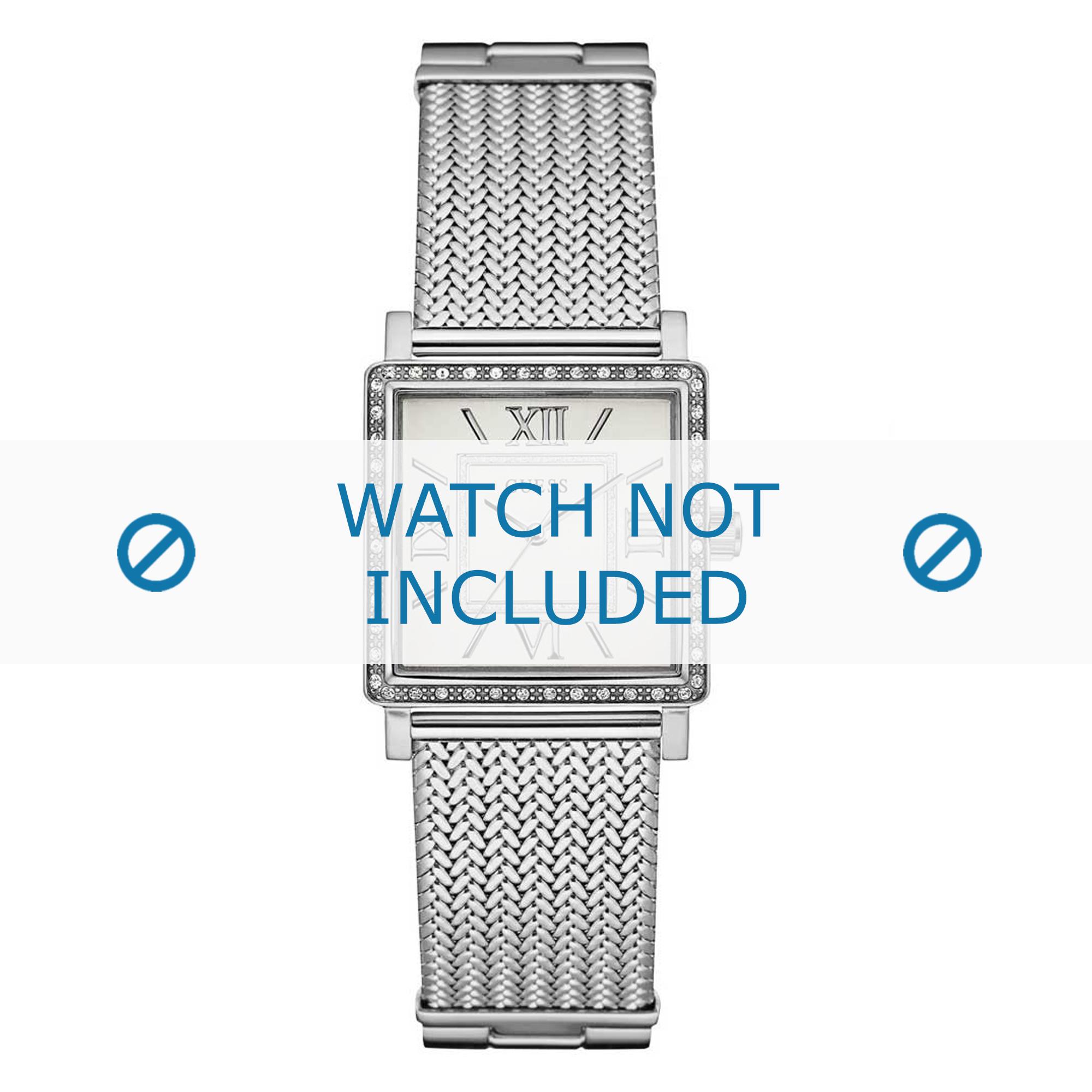 Guess horlogeband W0826L1 Staal Zilver 20mm