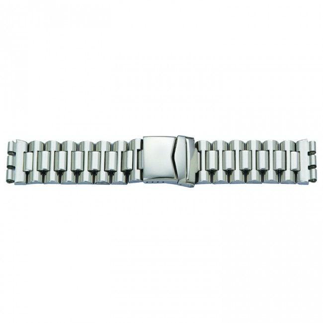 Horlogeband passend aan Swatch staal 19mm 1074