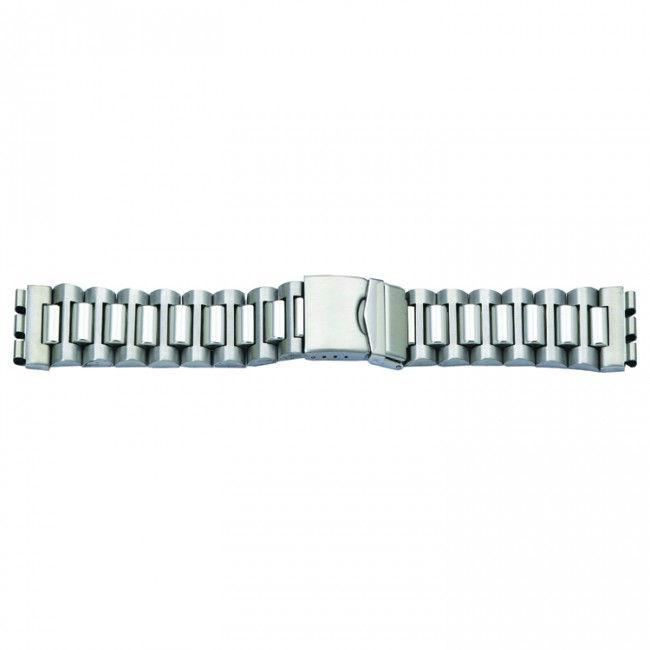 Horlogeband passend aan Swatch staal 17mm 2074