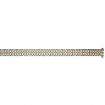 Horlogeband Staal 10mm - 14mm Bicolor PVK ED610