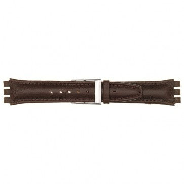 Band passend aan Swatch bordeaux 19mm 06PL