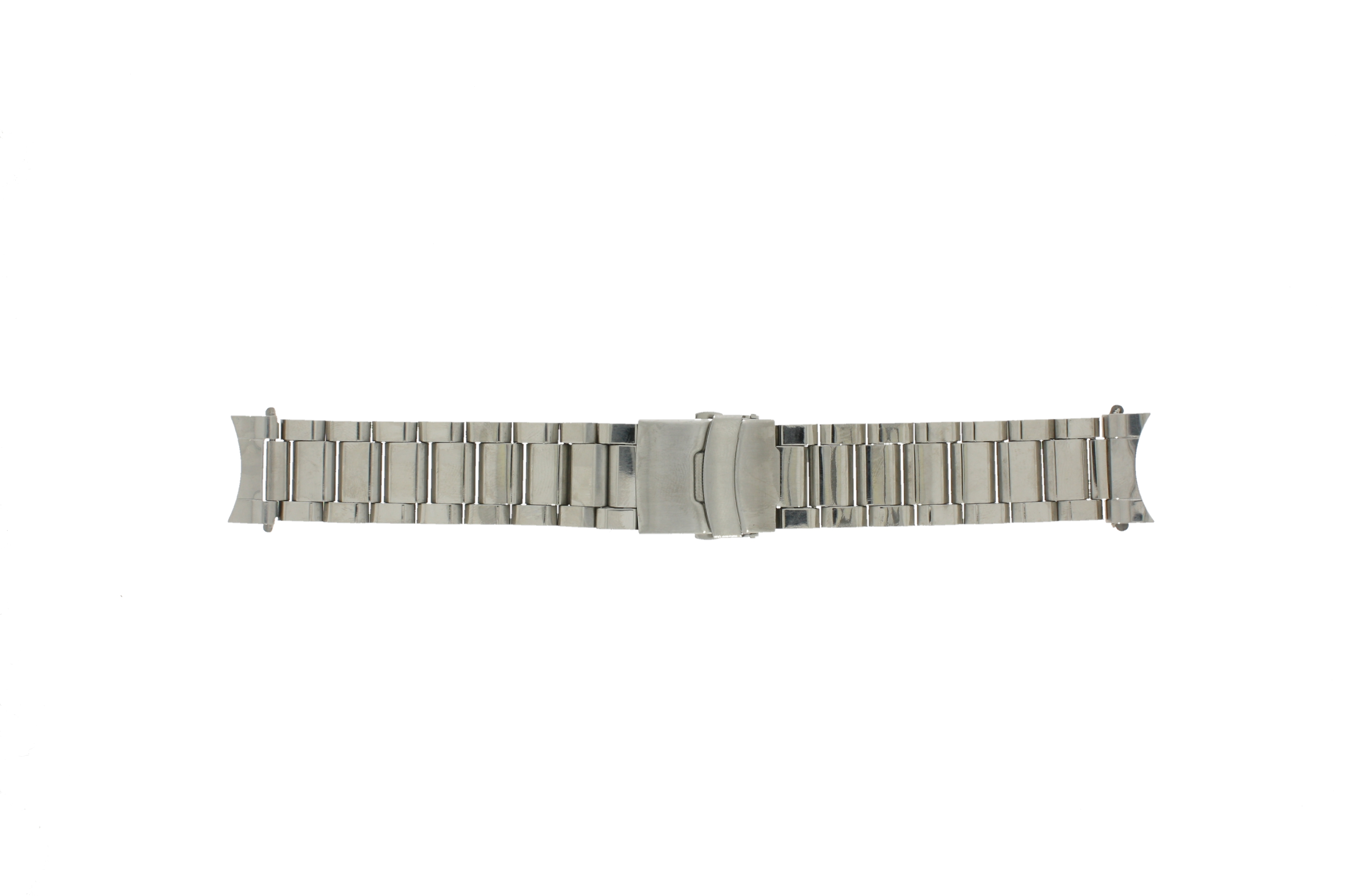 Horlogeband QQ23ST Staal Zilver 23mm