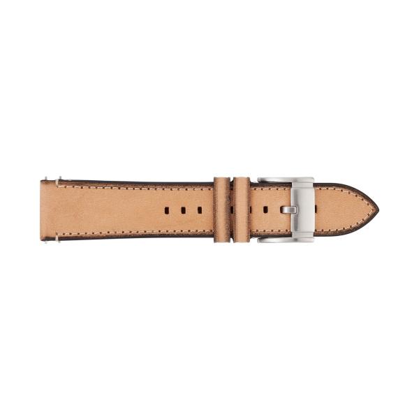 Fossil horlogeband S221301 Leder Bruin 22mm + standaard stiksel