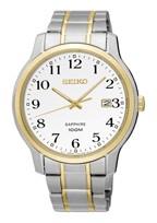 Seiko horlogeband SGEH68P1 / 7N42 0GE0 Staal Bi-Color 22mm