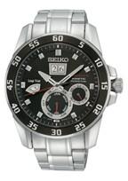 Seiko horlogeband 7D48-0AK0 / SNP055P1 / SNP085P1 Staal Zilver 21mm