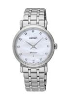 Seiko horlogeband SXB433P1 / 7N89 0AY0 Staal Zilver 16mm