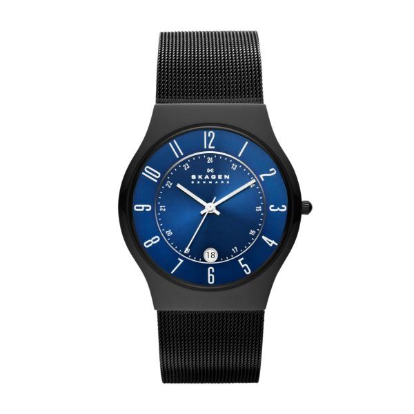 Skagen Grenen T233XLTMN Analoog Quartz horloge Herenhorloge