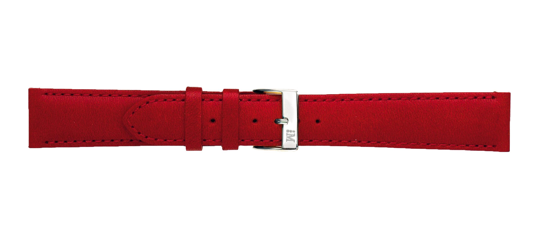 Morellato horlogeband Grapic U0969087082CR22 / PMU082GRAFIC22 Glad leder Rood 22mm + standaard stiksel