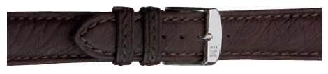 Morellato horlogeband Tintoretto U3221767030CR22 / PMU030TINTOR22 Leder Donkerbruin 22mm + standaard stiksel