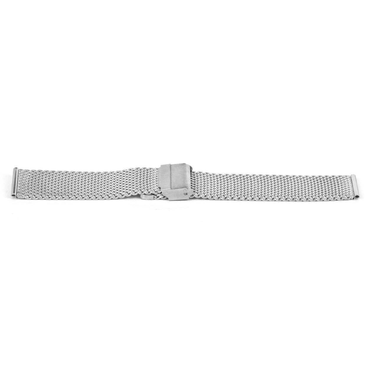 Horlogeband YF43 Staal Zilver 18mm