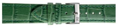 Morellato horlogeband Bolle X2269480075CR22 / PMX075BOLLE22 Croco leder Groen 22mm + standaard stiksel