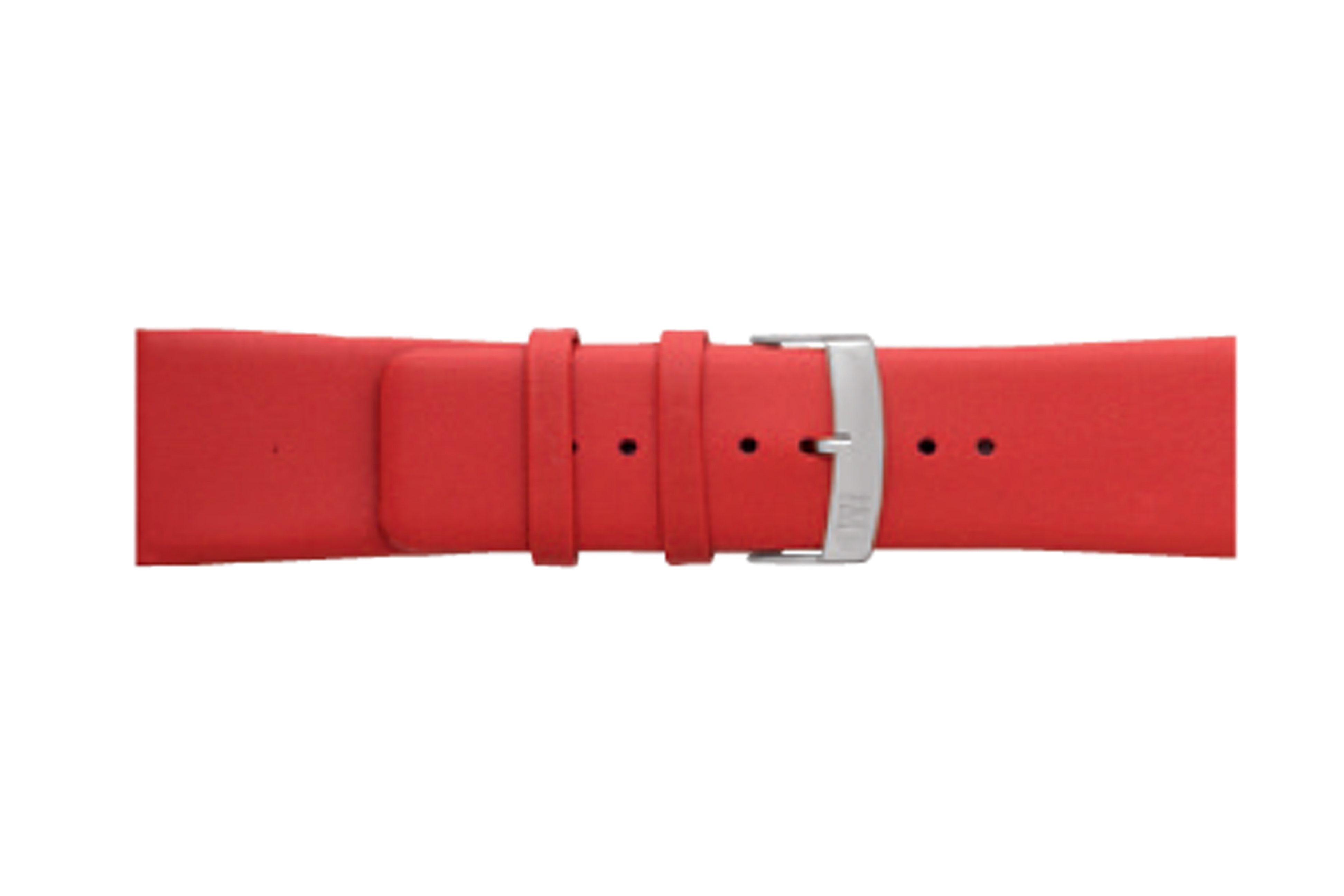 Morellato horlogeband Large X3076875083CR26 / PMX083LARGE26 Glad leder Rood 26mm