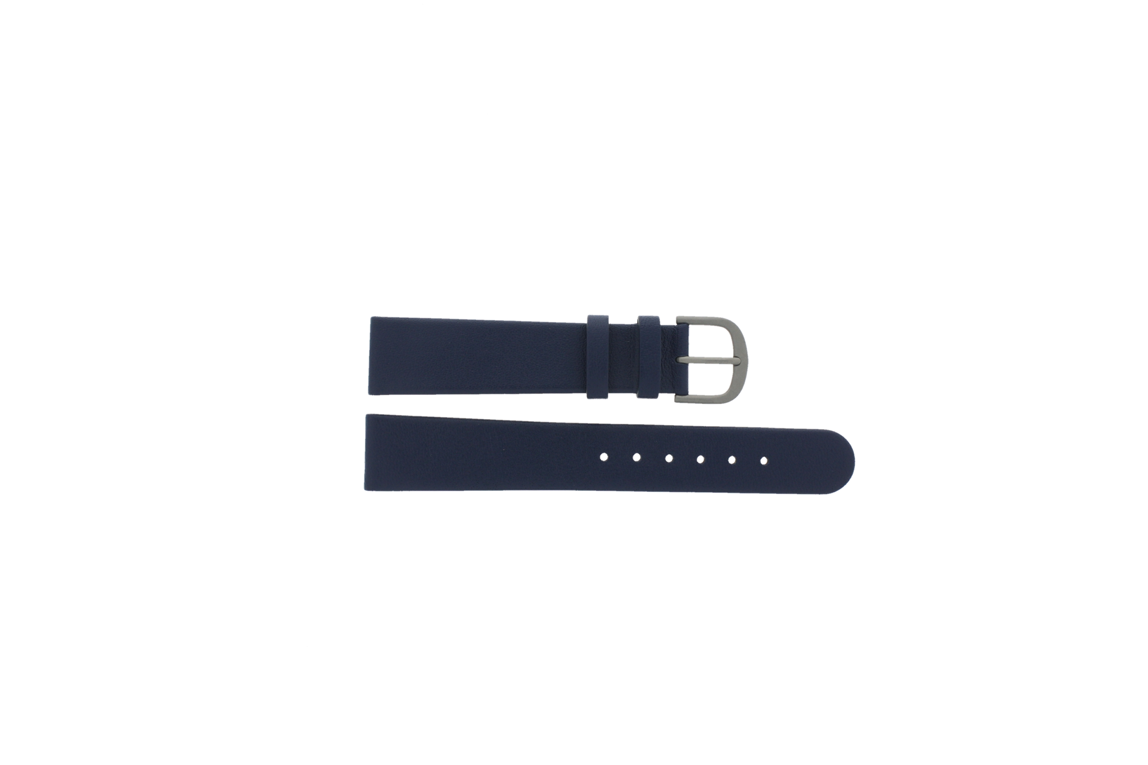 Danish Design horlogeband ADDBE18 Leder Blauw 18mm