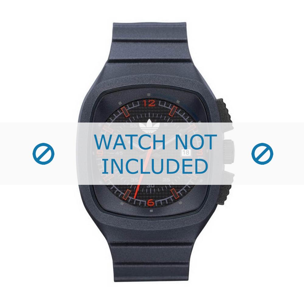 Adidas horlogeband ADH2134 Silicoon Grijs 18mm