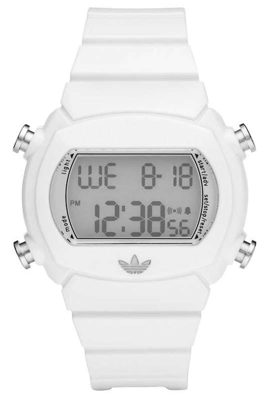 Adidas horlogeband ADH6123 Kunststof Wit 22mm