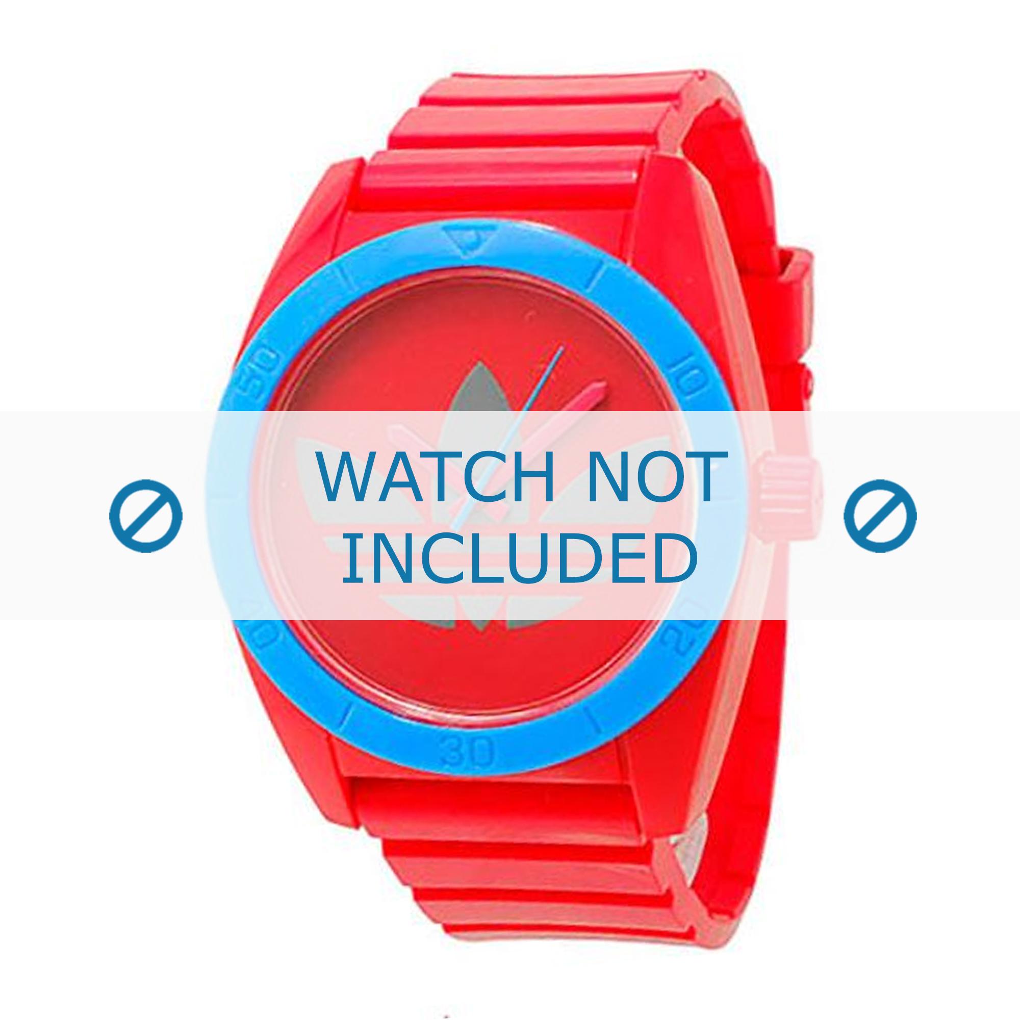 Adidas horlogeband ADH2869 Rubber Roze