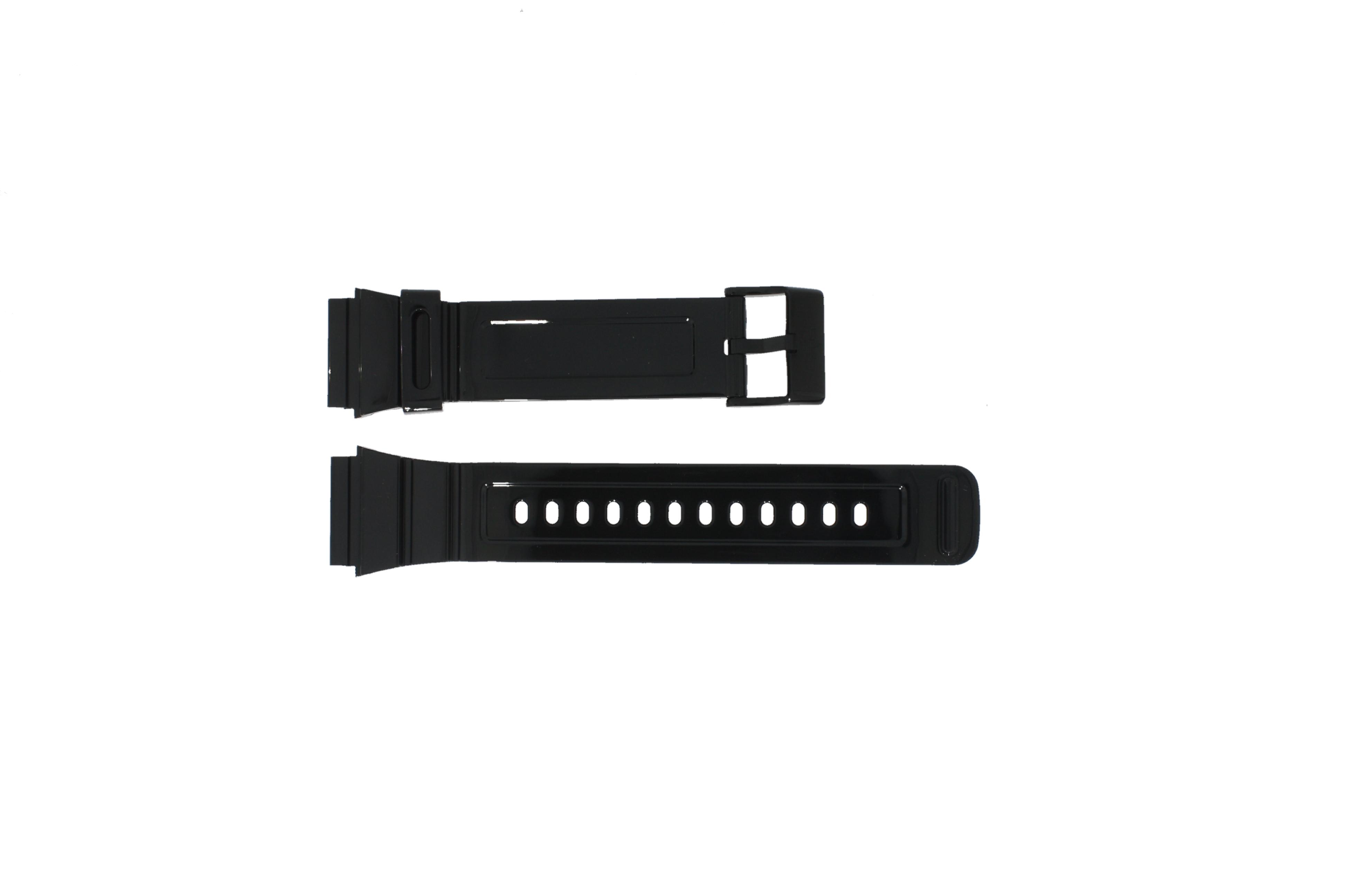 Adidas horlogeband ADH6092 Rubber Zwart 22mm