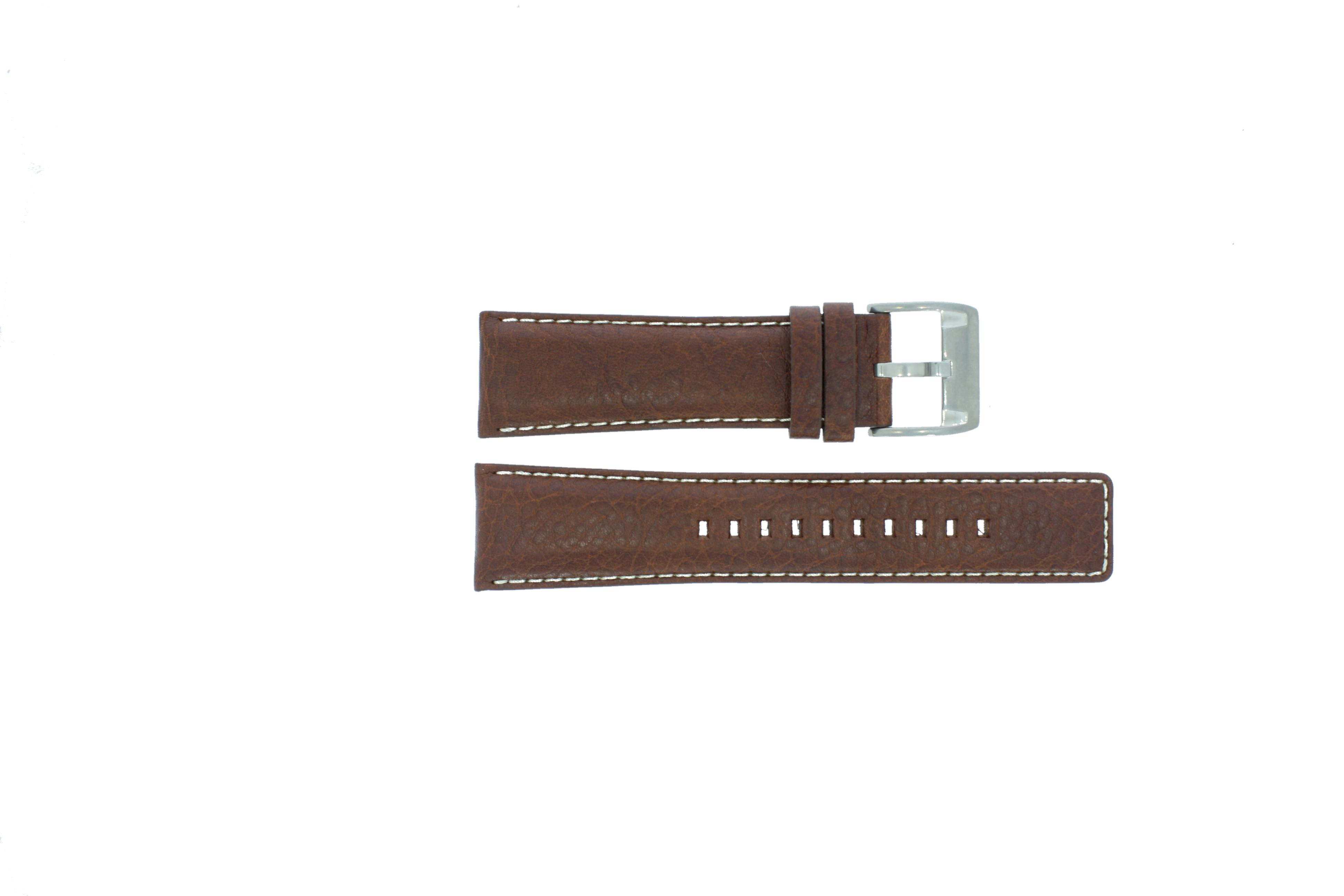 Fossil horlogeband AM-3891 Leder Bruin 25mm