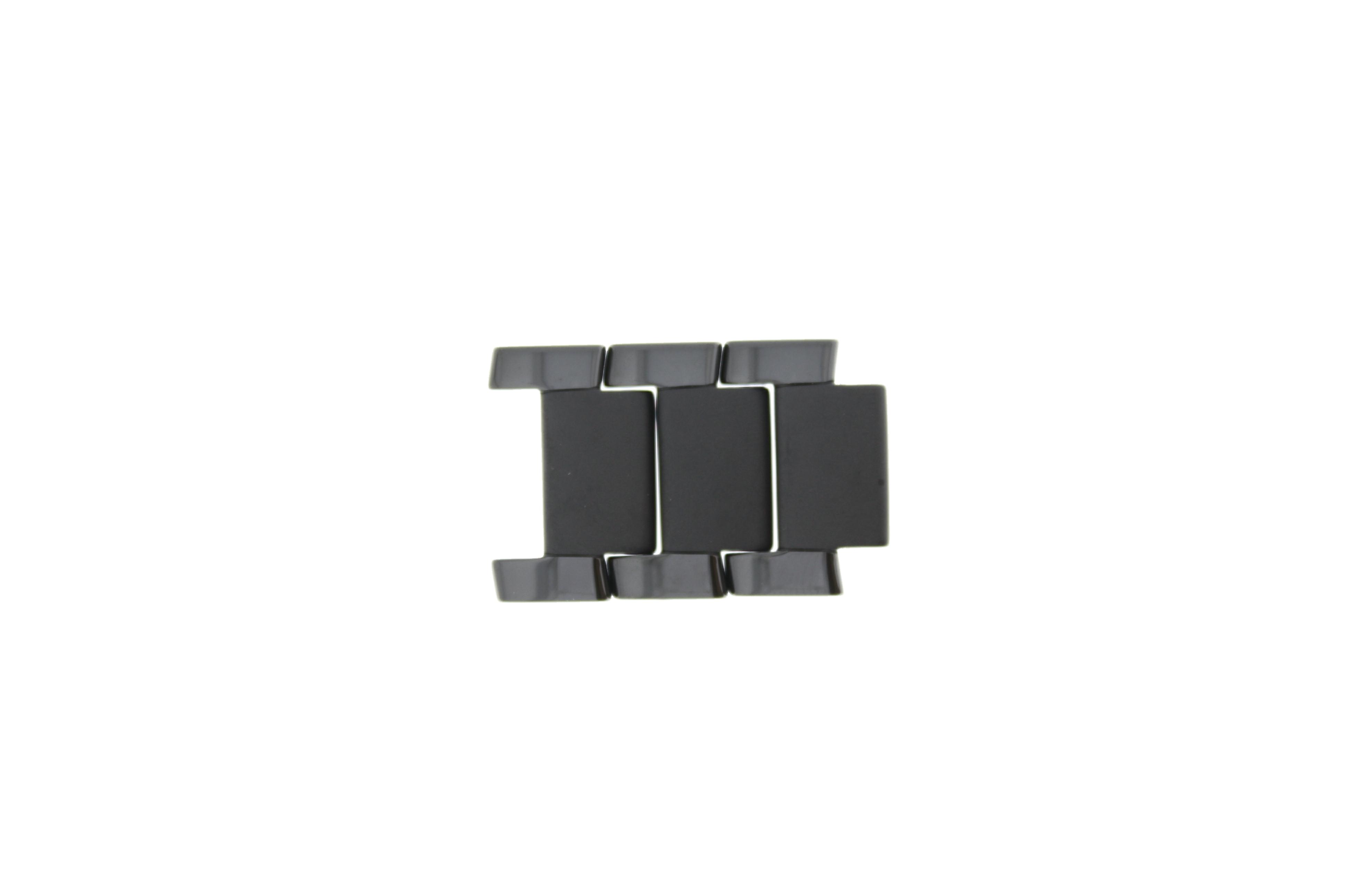 Armani AR-1451 Schakels Staal Zwart 21mm