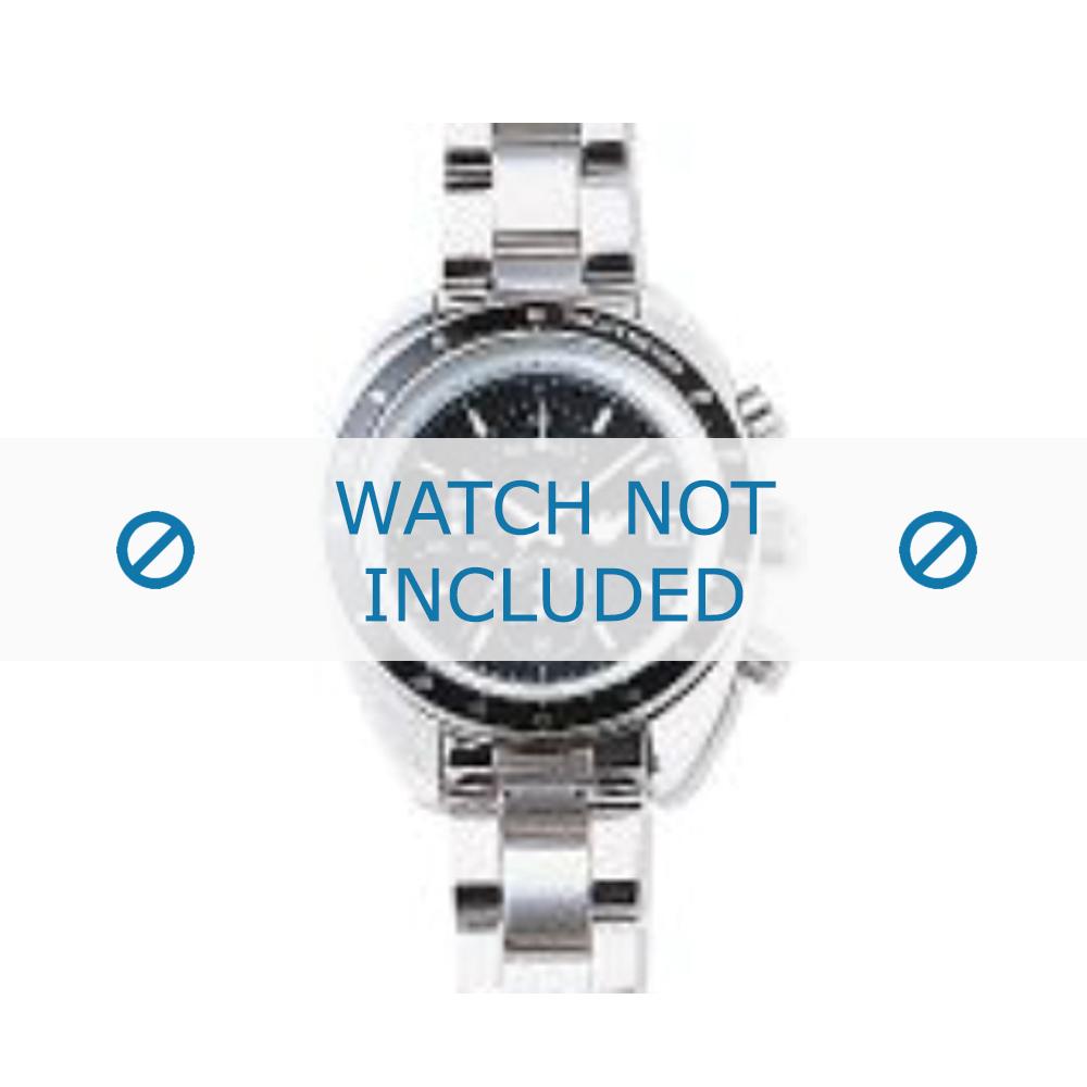 Armani horlogeband AR-0502 Staal Zilver 9mm
