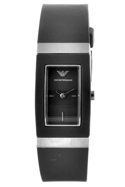 Armani horlogeband AR1503 Rubber Grijs