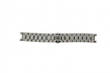 Armani horlogeband AR-0145 Staal Zilver 22mm
