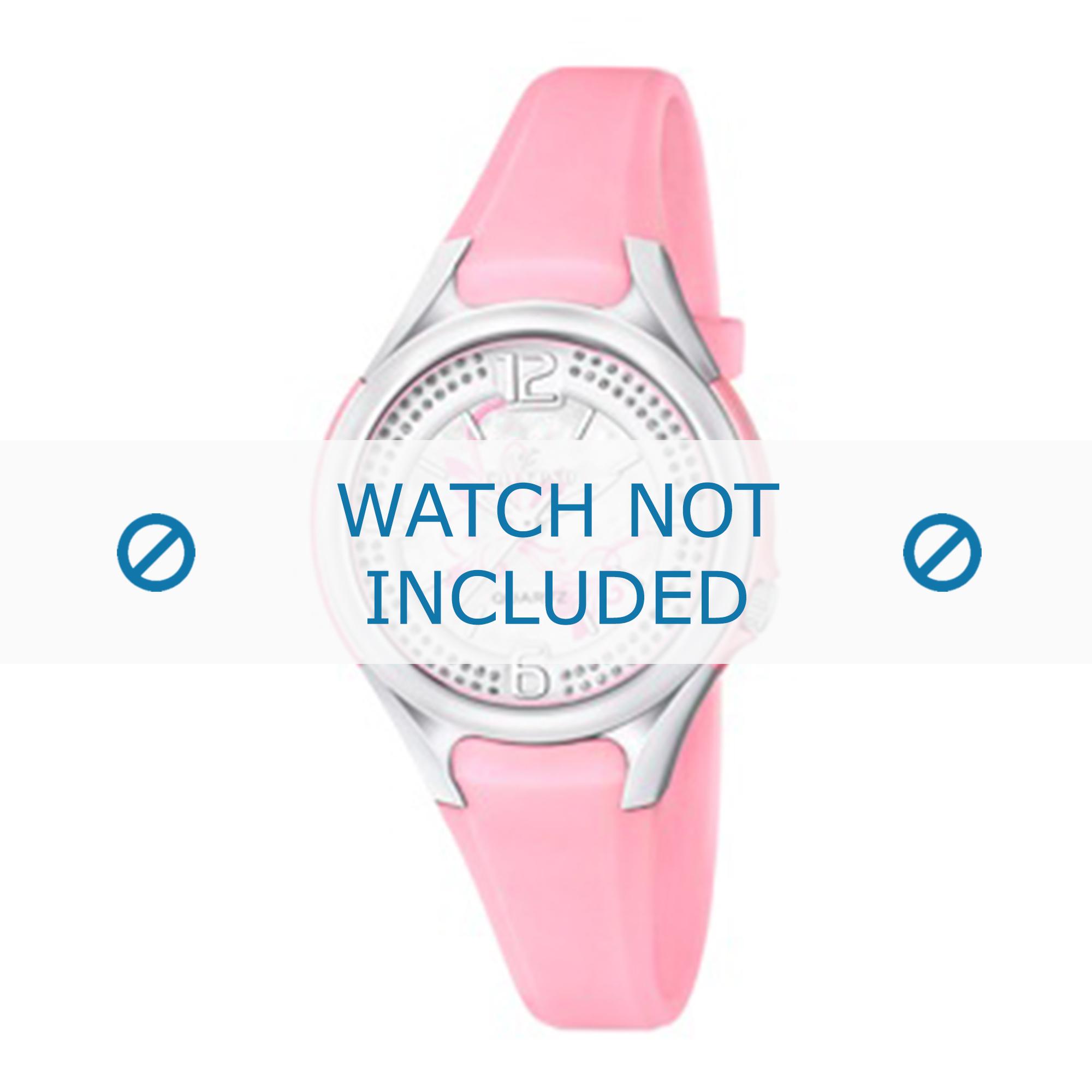Calypso horlogeband K5575-2 Rubber Roze