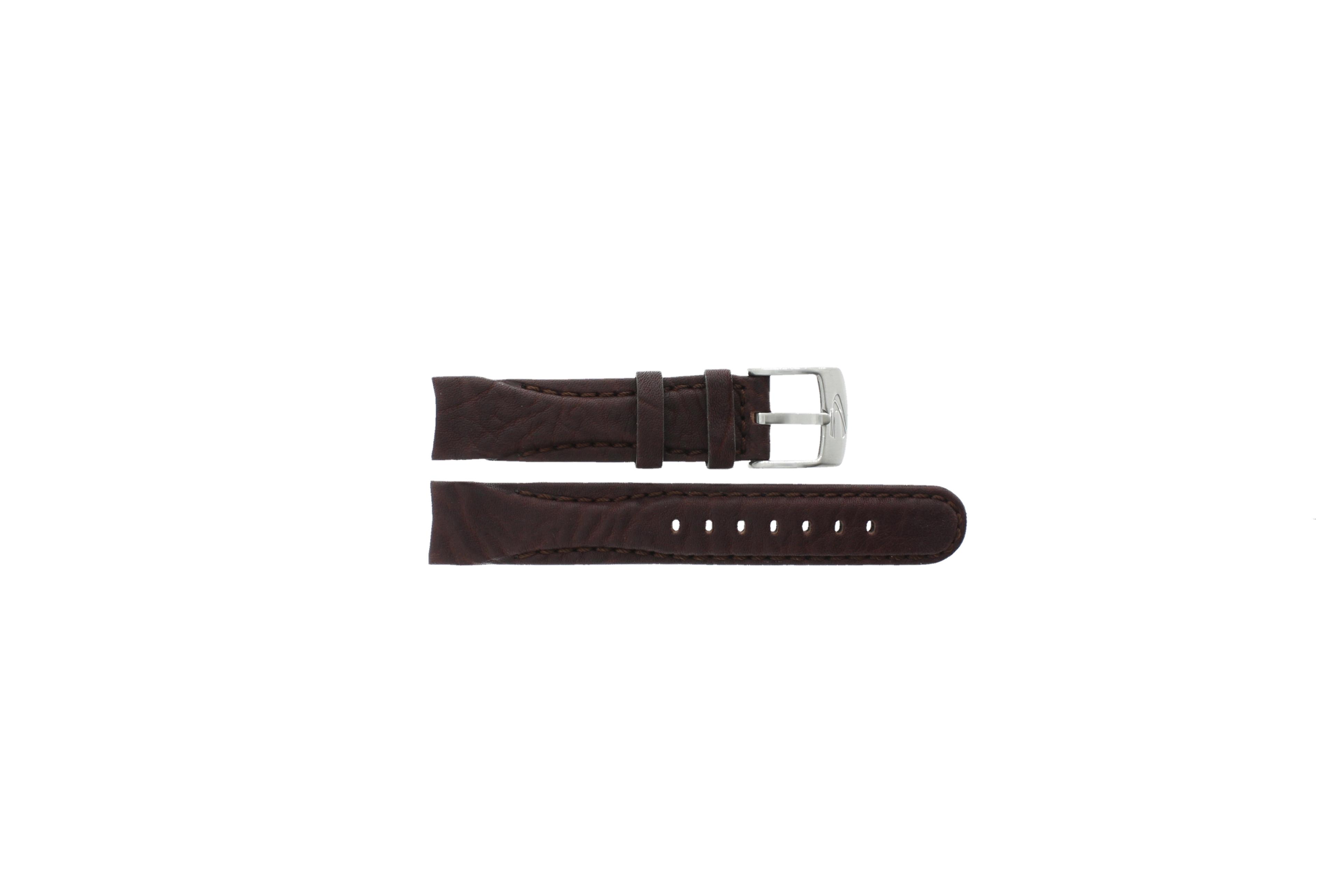 Camel horlogeband 4040-4049 / 4050-4059 Leder Bruin 23mm + bruin stiksel