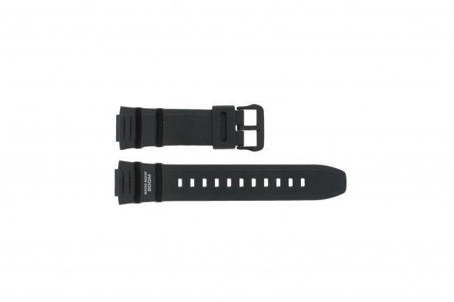 Casio horlogeband WV-200E-1AV EF / WV-200A-1AV / WV-200U-1AV / AE-2000W-1AV - AE-2100W-1AV - Rubber Zwart 16mm