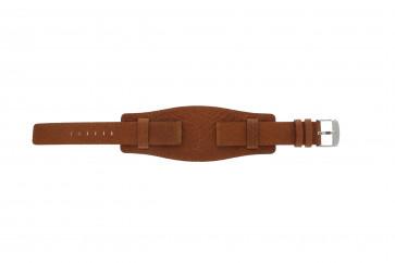 Davis horlogeband B0222 Leder Cognac 18mm