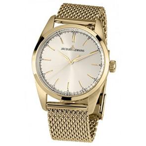 Jacques Lemans horlogeband 1559C Staal Doublé 20mm