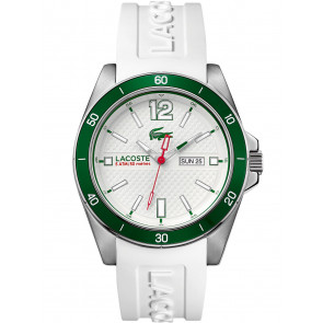 Lacoste horlogeband 2010802 / LC-62-1-27-2592 Silicoon Wit 22mm