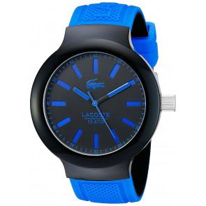 Lacoste horlogeband 2010815 / LC-61-1-29-2349 Rubber Blauw 16mm