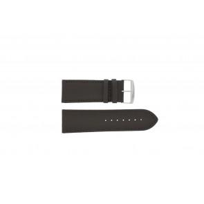 Horlogeband 306.02 Leder Bruin 26mm + standaard stiksel
