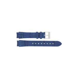 Prisma horlogeband 33 832 117 Leder Blauw 14mm + blauw stiksel
