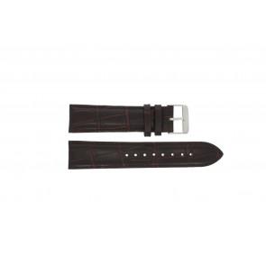 Prisma horlogeband 33C631012 Leder Bruin 22mm + bruin stiksel