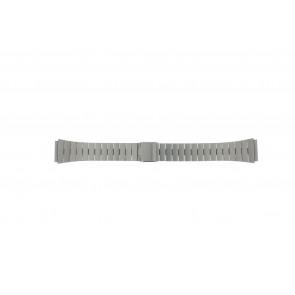 Horlogeband 41020-1-18 Staal Zilver 18mm