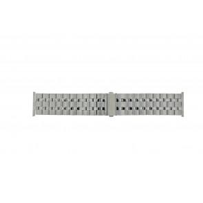Other brand horlogeband Pebro 434-30 Staal Zilver 30mm