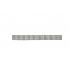 Horlogeband 551129-18 Staal Zilver 18mm