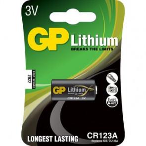 GP fotobatterij 123A 3V