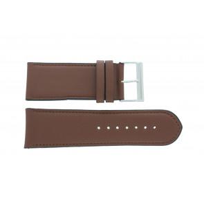 Horlogeband 61215B.23.30 Leder Bruin 30mm + standaard stiksel