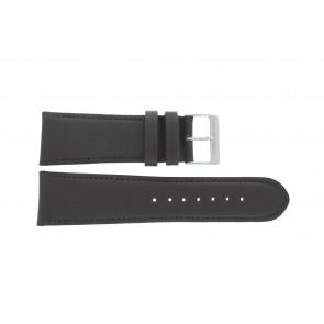 Horlogeband 61215B.27.26 Leder Donkerbruin 26mm + standaard stiksel