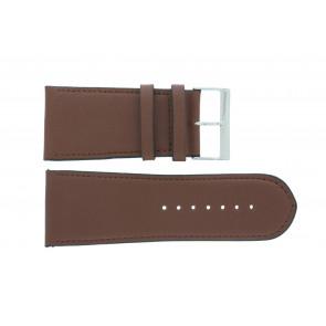 Horlogeband 61215EB.23.38 Leder Bruin 38mm + standaard stiksel