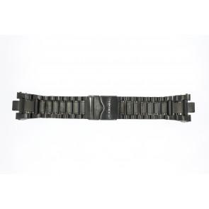 Invicta horlogeband INV-6561 Staal Zwart 12mm