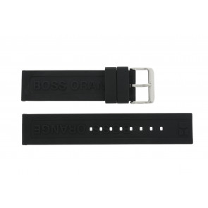 Hugo Boss horlogeband 659302252 / HB.116.1.29.2267 / 1512543 Rubber Zwart 22mm