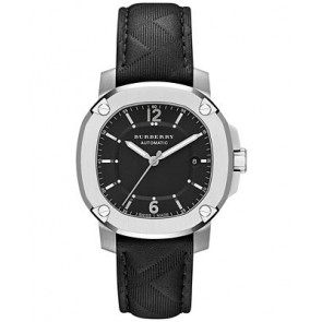 Horlogeband Burberry BBY1209 Rubber Zwart 20mm